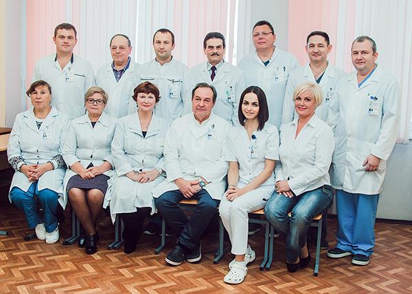 Сотрудники 2 кафедры хирургических болезней