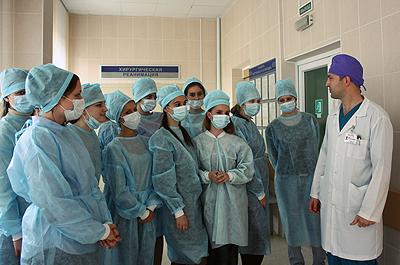 Ознакомительная экскурсия по больнице скорой медицинской помощи
