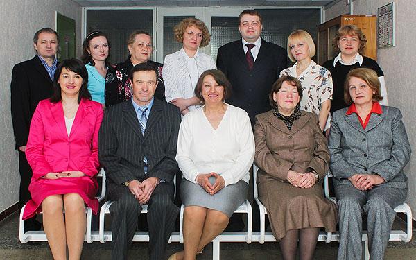 Сотрудники кафедры 2011 год