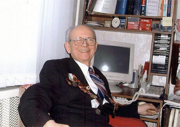 Профессор Зиновий Пинхусович Шульман