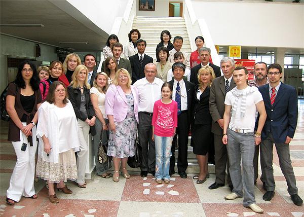 Визит японской делегации в Белорусский государственный медицинский университет