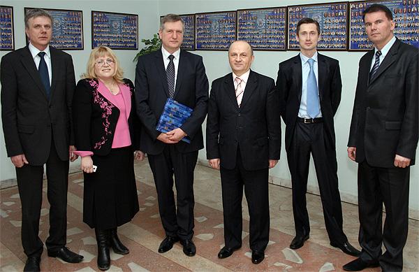 Представители Каунасского Медицинского Университета (Литва)