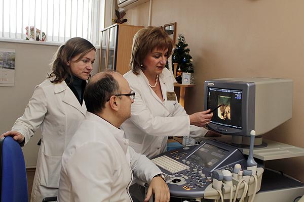 Межрайонный ресурсный центр пренатальной ультразвуковой диагностики в 4 женской консультации