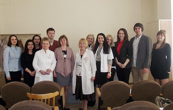 После научной студенчекой конфеенции на базе УЗ 5 ГКБ 2013
