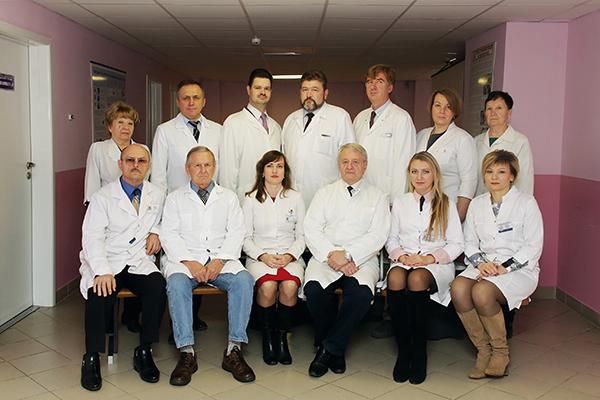 Сотрудники кафедры анестезиологии и реаниматологии