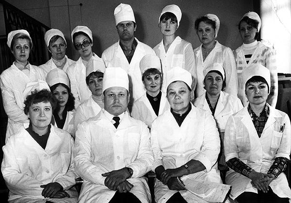 Коллектив кафедры 1983г.