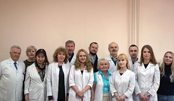 Сотрудники кафедры кожных и венерических болезней