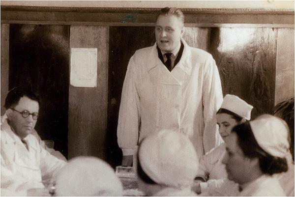 Главный врач 2-й больницы 1958г.