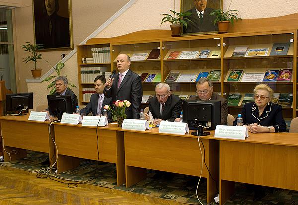 Открытие международной научно-практической конференции «Актуальные проблемы морфологии»