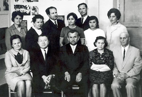 Коллектив кафедры, 1969 г.