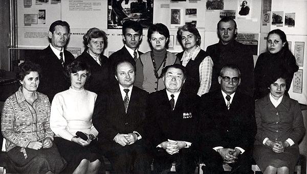Коллектив кафедры, 1980 г.