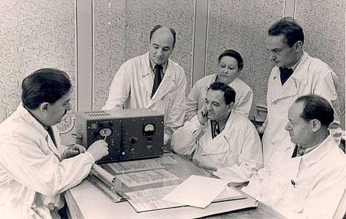 Сотрудники кафедры 1975 год