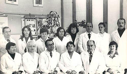 Сотрудники кафедры 1982 год