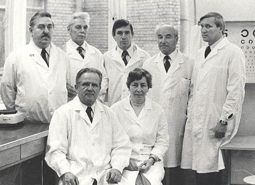 Кафедра общей гигиены 1981 год