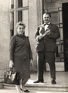 Ю. В. Гулькевич и Н. Ф. Силяева