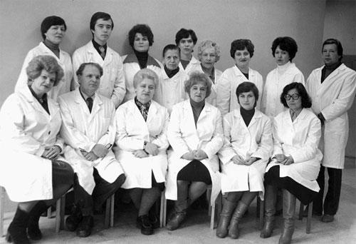 Коллектив кафедры, 1988-1989 уч. год.