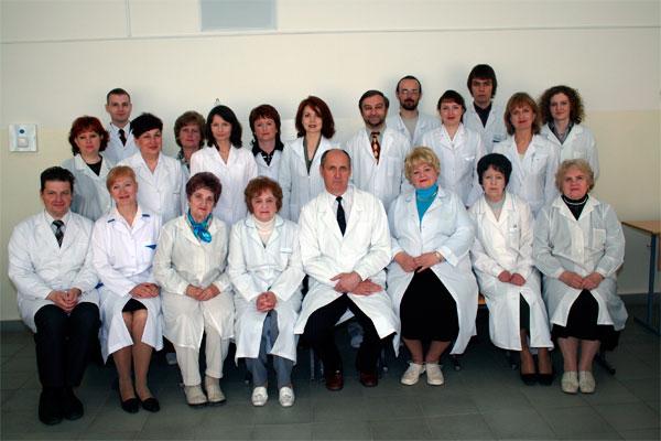 Коллектив кафедры патофизиологии  2007 г.