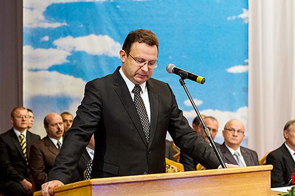 Первый заместитель Министра здравоохранения Республики Беларусь Дмитрий Леонидович Пиневич
