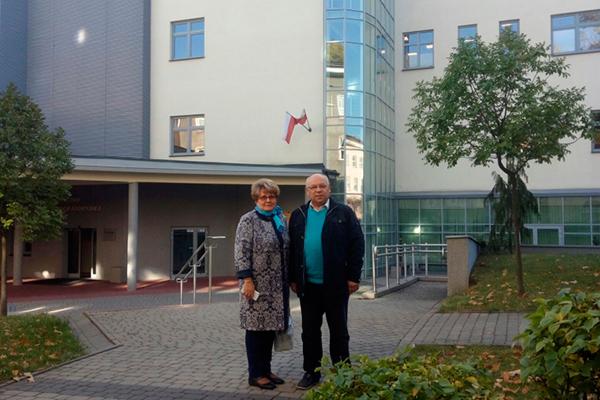 Посещение Еврорегионального Центра фармации и фармацевтического факультета Медицинского университета Белостока