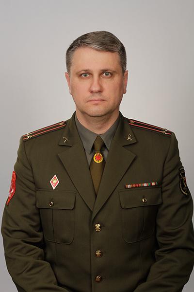 Подполковник медицинской службы Сергей Александрович Вашетко