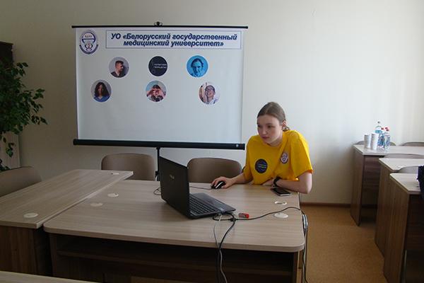 Капитан команды София Охапкина