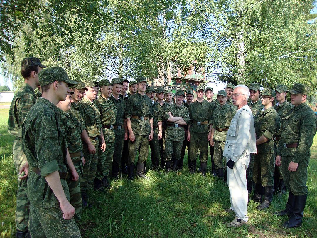 На кафедре организации медицинского обеспечения войск и экстремальной медицины военно-медицинского